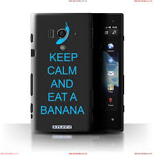 stuff4 case cover for sony xperia acro s lt26w eat a banana