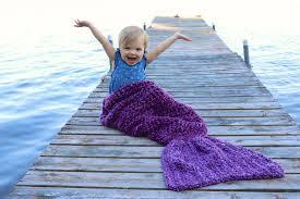 Mermaid Blanket Crochet Pattern Beauteous Crochet Mermaid Tail Blankets Props For Kids Adults