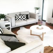 lounging furniture. Lounge. IKEA Nockeby Sofas. Freedom Furniture NZ Coffee Table. Taramea Passive House Lounging