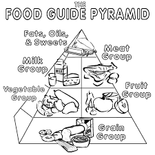 Small Picture Food Pyramid Coloring Pages Photos Coloring Food Pyramid Coloring