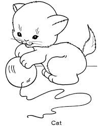 Small Picture Cute Kitten Coloring Pages Free Printable Coloring Pages 13988