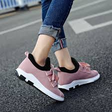 Women Canvas Shoes Vulcanized Shoes Pink Sneakers <b>2018 New</b> ...