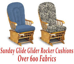 cushion for glider rocking chair glider rocker cushions for sunday glide chair best interior