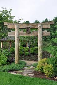 Small Picture 125 best Garden separation ideas Torii Gate portail