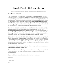 Formal Academic Letter Of Recommendation Template With Recipient