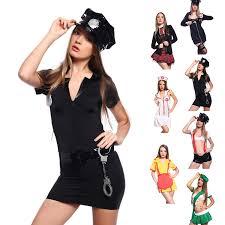 Sexy Women Black Police Outfit Hen Night Mini Dress Halloween Fancy Dress  Costume Clothing Size 8 10: Amazon.co.uk: Health U0026 Personal Care