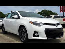toyota corolla 2015 white. Wonderful White 2015 Toyota Corolla S Plus Full Review Start Up Exhaust Inside White