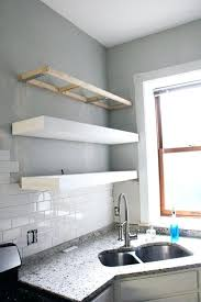 Chunky White Floating Shelves Thick White Floating Shelves Chunky White Floating Shelves White 4