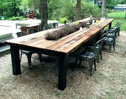 build outdoor dining table webdeucinfo large outdoor dining table plans architects outdoor cedar table