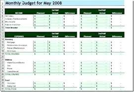Personal Monthly Budget Spreadsheet Monthly Expenses Worksheet Excel Categories Tab Personal Monthly