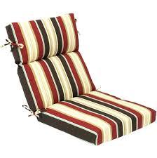 highback outdoor chair cushion black high back outdoor dining chair cushion