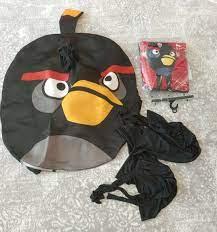 Angry Birds Adult Costume Lot 3 Costumes Black Bomb B… - Gem
