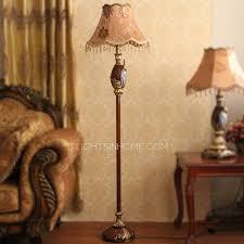 floor lighting 1. Brown Peacock Resin Modern Floor Lamps With Fabric Shade Lighting 1