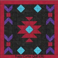 Navajo Indian Southwest Design Easy to Make Pre-Cut Fabric Quilt ... & Navajo Indian Southwest Design Easy to Make Pre-Cut Fabric Quilt Block . Adamdwight.com