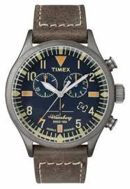 timex watches official uk retailer first class watches timex mens the waterbury chronograph navy dial tw2p84100