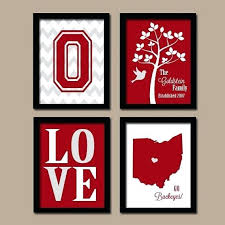 state wall art decor large size printing