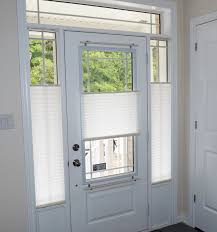 front door window coveringsPleated shades are an economical yet highly functional window