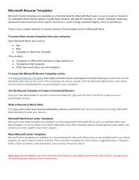 Free Entry Level Resume Templates For Word Study How To Write A On