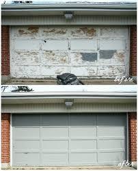 painting aluminum garage door painting a garage door stopgap garage door 1 painting aluminum garage doors