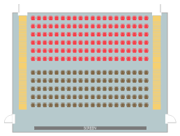 How To Make An Auditorium Seating Chart Seating Plans Building Drawing Software For Design Seating