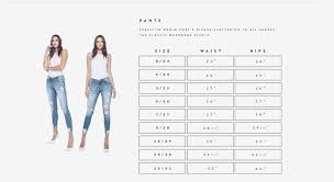 Miss Me Skinny Jeans Size Chart Best Picture Of Chart