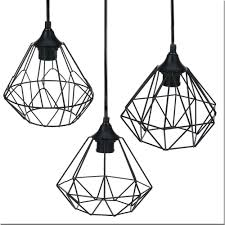 details about modern black geometric metal wire hanging ceiling light pendant fixture shade