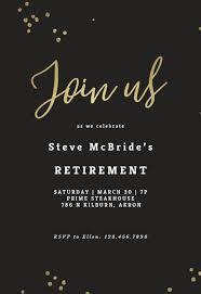 Retirement Farewell Party Invitation Templates Free