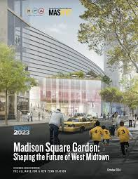 since the push to displace madison square garden began efforts have centered on recruiting architectural firms to design futuristic visions of a new penn