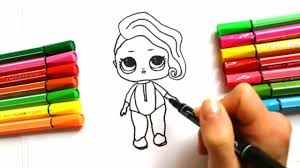 DRAW LOL Surprise DIY Doll |Draw Toy Tutorial | Liitle Girl :: Как ...