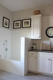 Small Laundry Renovations Open Wood Cabinets For Small Utility Room Personalised Home Design