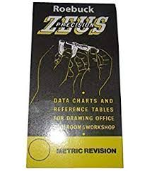 Zeus Chart Workshop Data Book Drill Sizes And Decimal