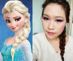 disney s frozen elsa makeup inspired look