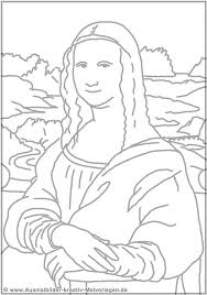 Small Picture New Mona Lisa Coloring Page 62 On Gallery Coloring Ideas With Mona