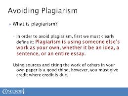 chapter iuml frac what is plagiarism acirc brvbar in order to avoid plagiarism what is plagiarism