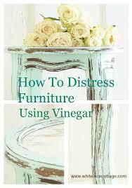 diy furniture restoration ideas. interesting restoration how to distress furniture with vinegar and diy restoration ideas