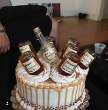 42 Great Alcohol Cakes Images Deserts Pastries 21st Cake