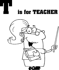 Teacher Coloring Pages Getcoloringpagescom