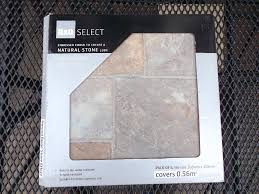 b q natural beige stone effect self adhesive vinyl floor tiles bnib 20 packs 11 2 sqm