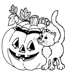 jackolantern coloring page