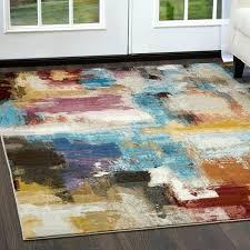 contemporary watercolor area rug by miller multi safavieh glacier abstract blue watercolor area rug glacier abstract