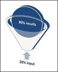 "when means pareto principle to support managers in tactical  ""the good to great"