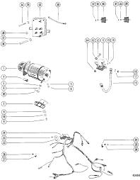 starter motor wiring harness for mercruiser 470 engine