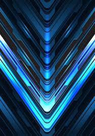 Dark Blue Light Abstract Blue Light Grey Arrow Direction On Dark Design