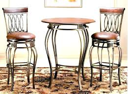 tall cafe table indoor cafe table and chairs continental iron tall cafe table pub furniture sets
