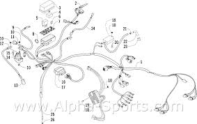 alpha sports parts diagrams oem arctic cat atv parts catalog click image to zoom