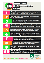 10 Top Tips | Southam College Sixth Form