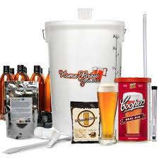 home brew plete starter kit with coopers real ale