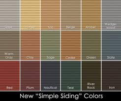 Georgia Pacific Vinyl Siding Color Chart Modern Exterior Siding Color Creative Images