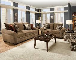 Simple Decoration Comfortable Living Room Furniture Wonderful ...