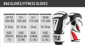 Title Boxing Shorts Size Chart Title Boxing Vengeance Hook And Loop Fitness Gloves